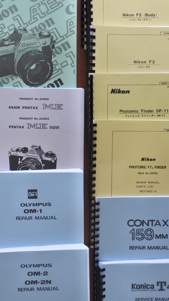Camera Service Repair manuals