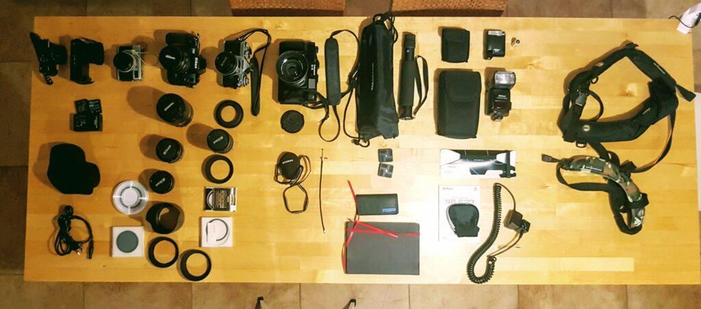 Gear for vacation